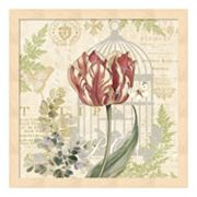 Metaverse Art Floral Nature Trail II Framed Wall Art