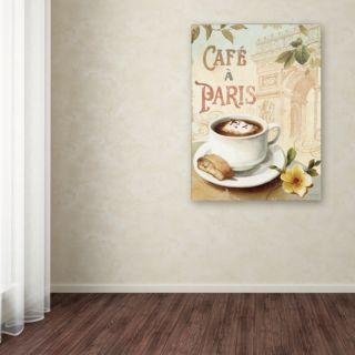 Trademark Fine Art Cafe in Europe I Canvas Wall Art