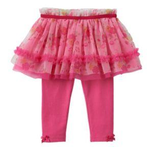 Baby Girl Baby Starters Floral Tutu Leggings