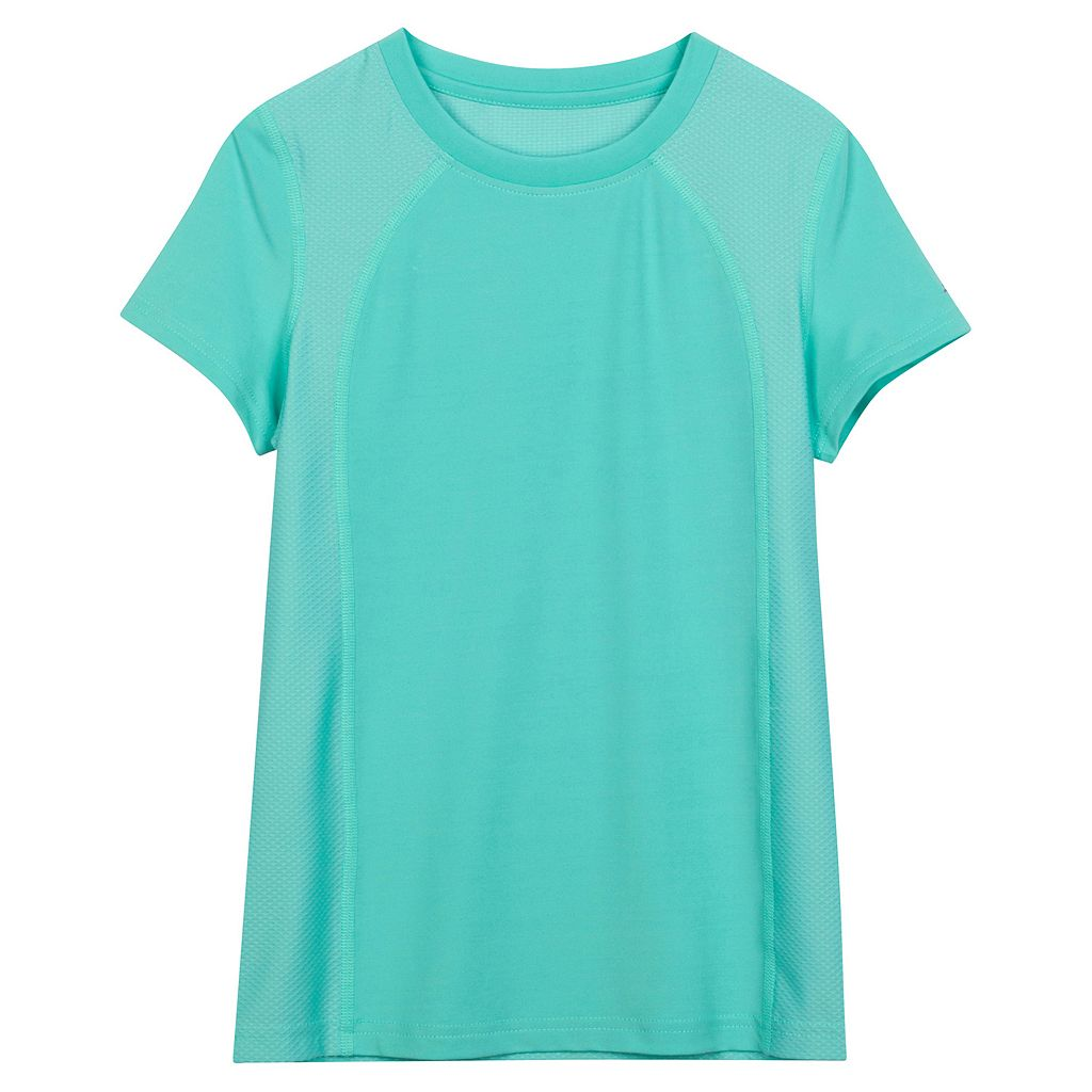 Girls 7-16 New Balance Jersey Mesh Performance Tee