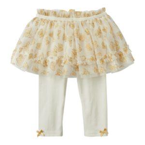 Baby Girl Baby Starters Butterfly Tutu Leggings