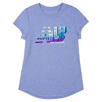 Girls 7-16 New Balance Heather Graphic Tee
