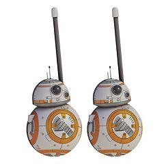 Star Wars: Episode VII The Force Awakens BB8 Walkie Talkies