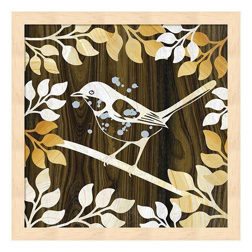 Metaverse Art Birdie I Framed Wall Art
