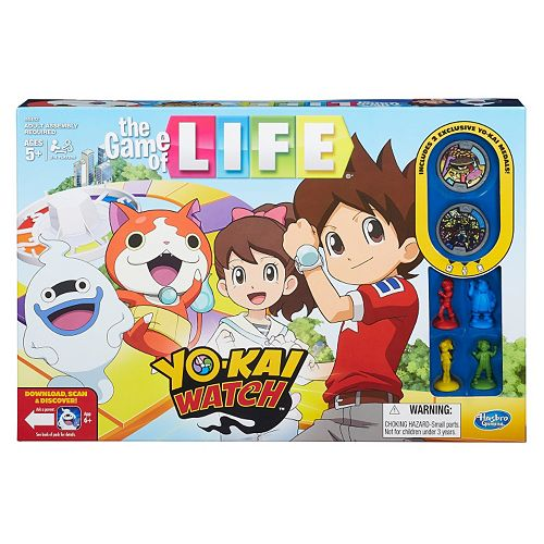 The Game of Life: Yo-Kai Watch Edition by Hasbro