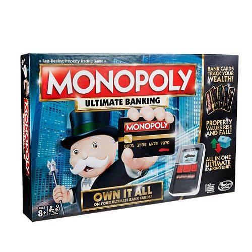 Monopoly Game Ultimate Banking Edition By Hasbro
