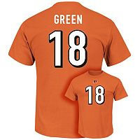 Men's Majestic Cincinnati Bengals A.J. Green Eligible Receiver Tee