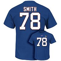 Men's Majestic Buffalo Bills Bruce Smith Hall of Fame Eligible Receiver Tee