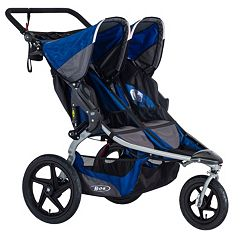 BOB 2016 Stroller Strides Fitness Duallie Double Jogger Stroller by