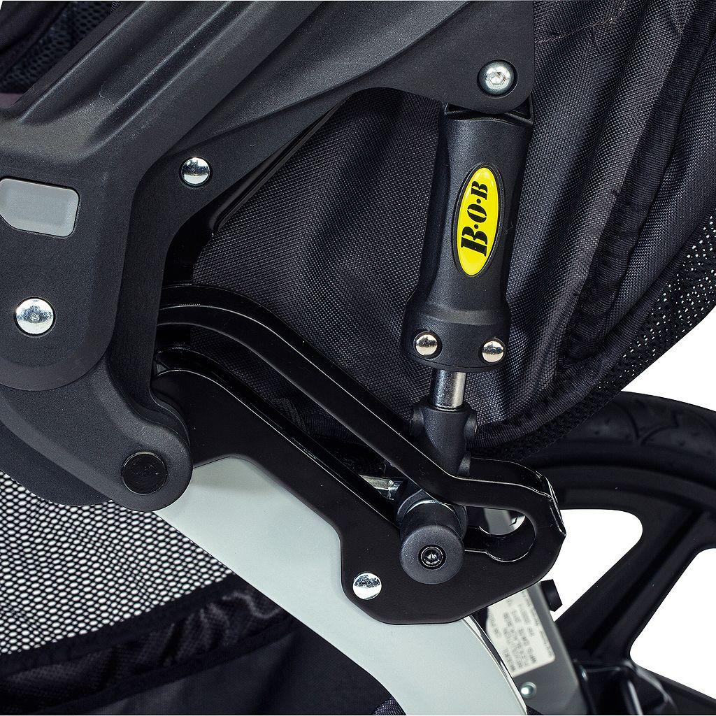 BOB 2016 Stroller Strides Fitness Duallie Double Jogger Stroller