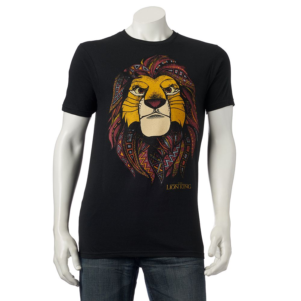 6292147d Men's Disney The Lion King Simba Tee