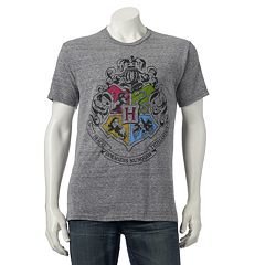 Men's Harry Potter Hogwarts Crest Tee