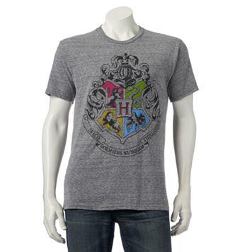 Men's Harry Potter Hogwarts Crest Tee