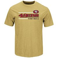 Men's Majestic San Francisco 49ers Line of Scrimmage Tee