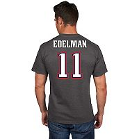 Men's Majestic New England Patriots Julian Edelman Eligible Receiver Tee
