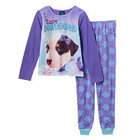 Girls 4-16 Jellifish Animal Pajama Set