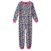 Girls 4-16 Jelli Fish Pattern One-Piece Pajamas