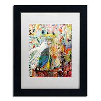 Trademark Fine Art Vers Toi Black Framed Wall Art
