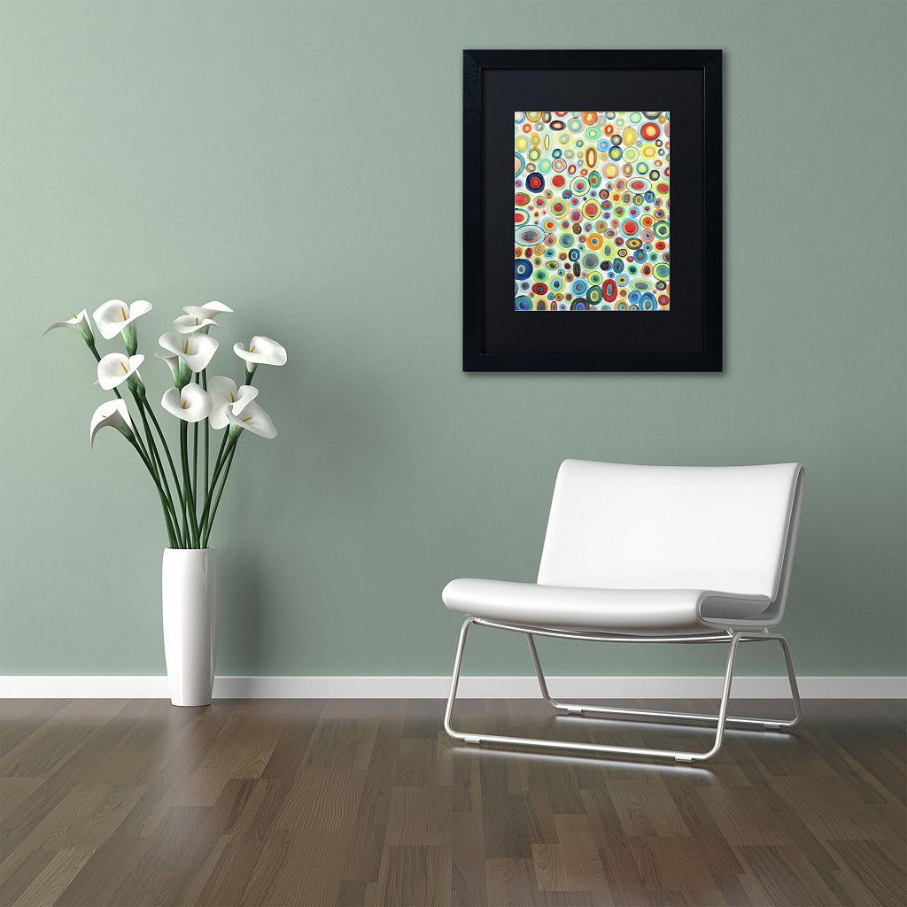 Trademark Fine Art Viva Black Framed Wall Art