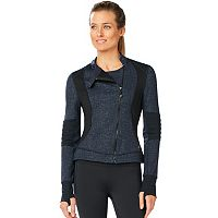Women's Shape Active Crop Moto Jacket