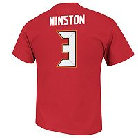 Men's Majestic Tampa Bay Buccaneers Jameis Winston Eligible Receiver Tee