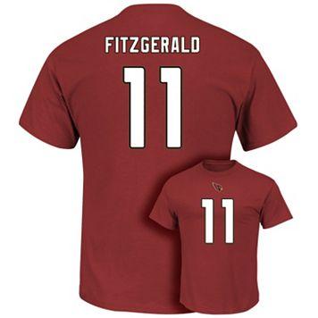 Men's Majestic Arizona Cardinals Larry Fitzgerald Eligible Receiver Tee