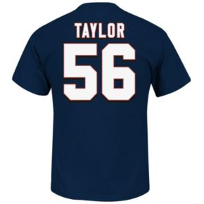 Men's Majestic New York Giants Lawrence Taylor Hall of Fame Eligible Receiver Tee