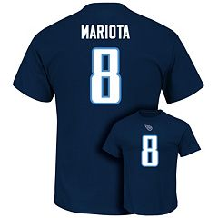 Men's Majestic Tennessee Titans Marcus Mariota Eligible Receiver Tee