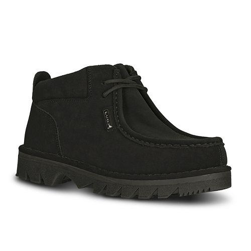 Lugz Fringe Men's Moc-Toe Ankle Boots