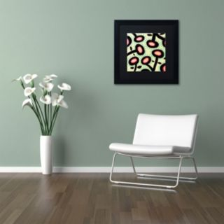 Trademark Fine Art Mon Jardin Framed Wall Art