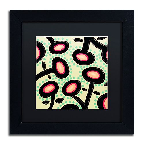 Trademark Fine Art Mon Jardin Framed Wall Art