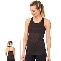 Women's Shape Active Gravel T-Back Mesh Workout Tank