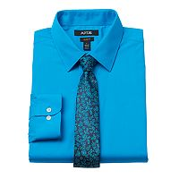 Men's Apt. 9® Slim-Fit Dress Shirt & Tie Set