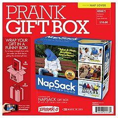 'Nap Sack' Prank Gift Box by 30 Watt