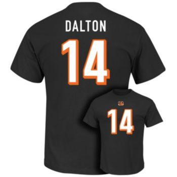 Men's Majestic Cincinnati Bengals Andy Dalton Eligible Receiver Tee