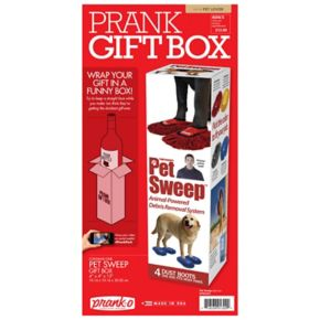 """Pet Sweep"" Prank Pack Gift Box by 30 Watt"