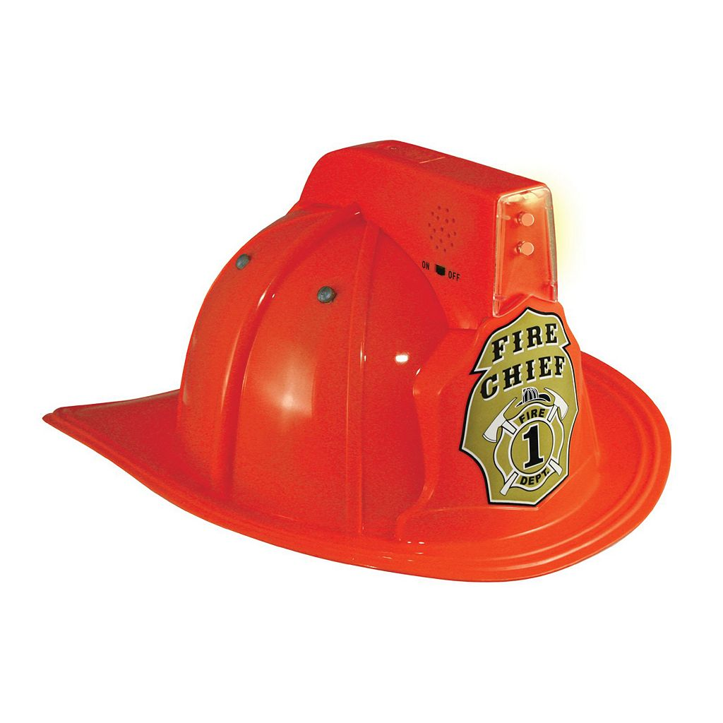 Kids Jr. Fire Chief Helmet with Lights