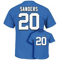 Men's Majestic Detroit Lions Barry Sanders Hall of Fame Eligible Receiver Tee