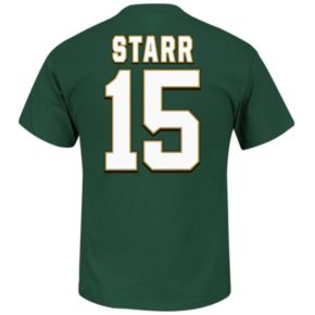 Men's Majestic Green Bay Packers Bart Starr Hall of Fame Eligible Receiver Tee