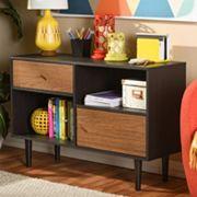 Baxton Studio Auburn Mid-Century Modern Scandinavian Sideboard Cabinet