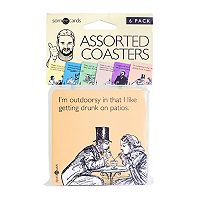 Prank Pack Someecards 6-pack Assorted Coasters by 30 Watt