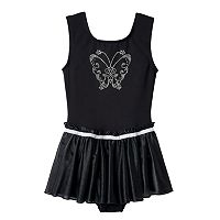 Girls 4-14 Jacques Moret Butterfly Skirtall Leotard
