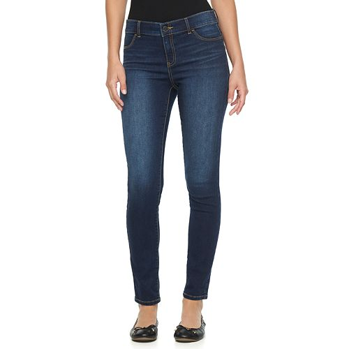 Women's Juicy Couture Flaunt It Midrise Skinny Jeans
