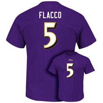 Men's Majestic Baltimore Ravens Joe Flacco Eligible Receiver Tee