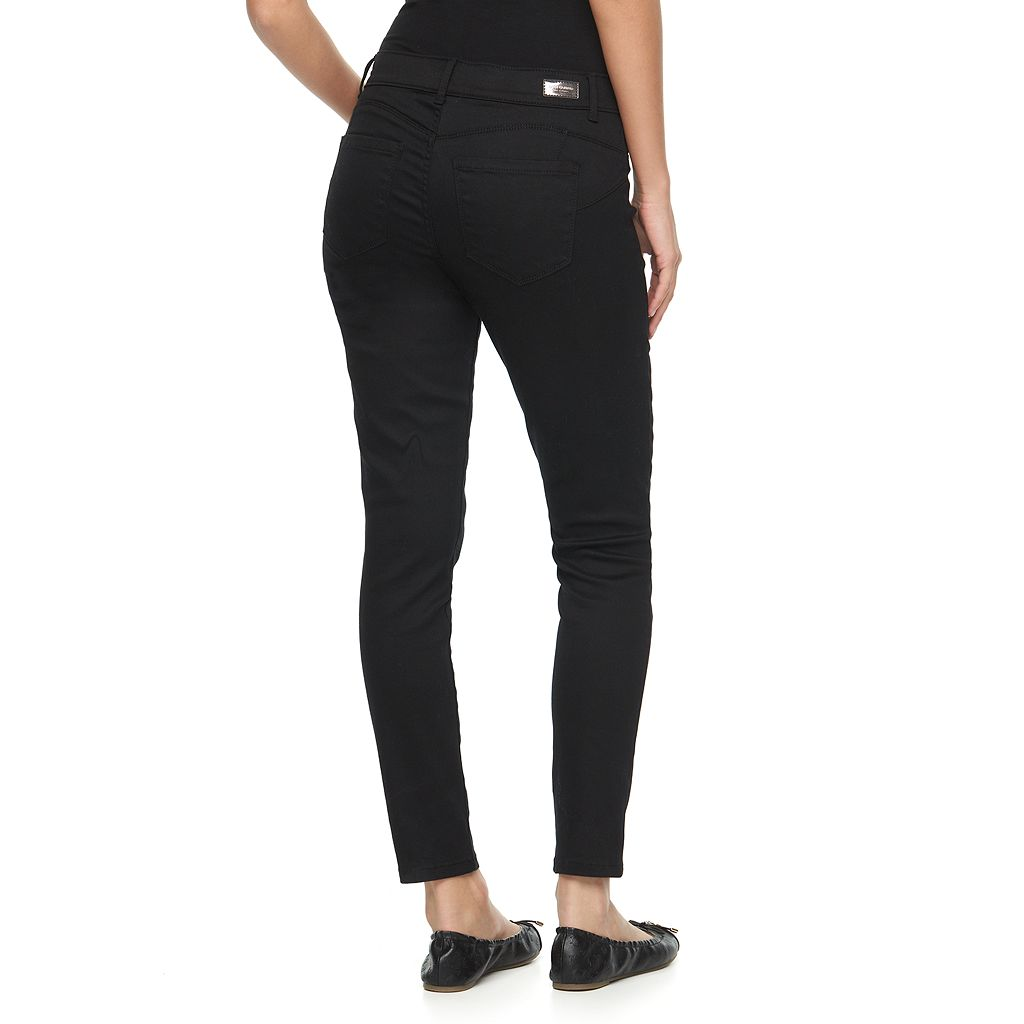 Women's Juicy Couture Black Flaunt It Skinny Jeans