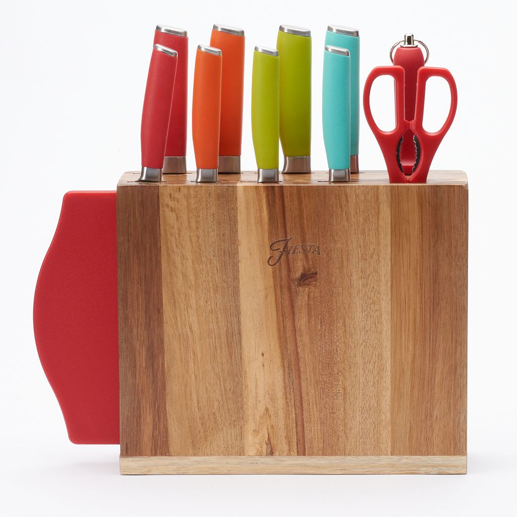 Fiesta 12-pc. Knife Block Set