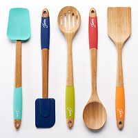 Fiesta 5-pc. Bamboo Kitchen Utensil Set
