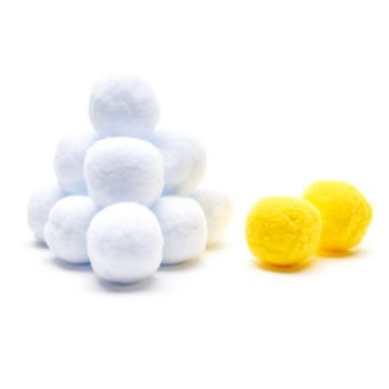 30 Watt Indoor Plush Snowballs