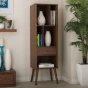 Baxton Studio Ellingham Mid-Century Modern  Sideboard Cabinet
