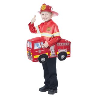 Kids Firetruck Hero Rider Costume